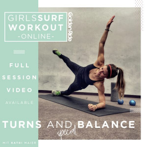 Girls Surf Workout Turns and Balance Special